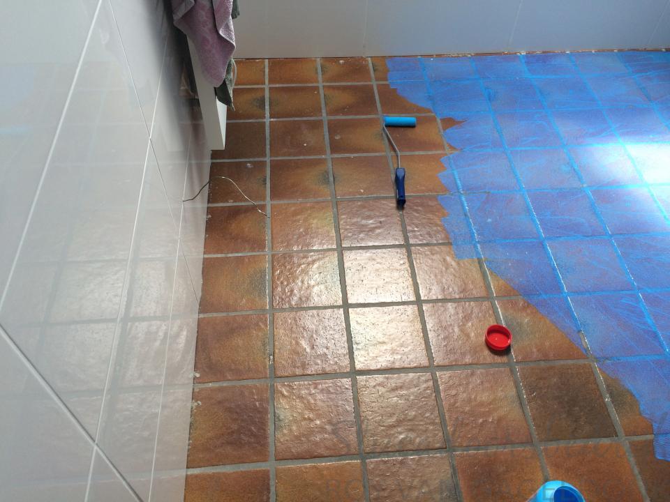 Betonstuc badkamervloer for Betonstuc zelf aanbrengen