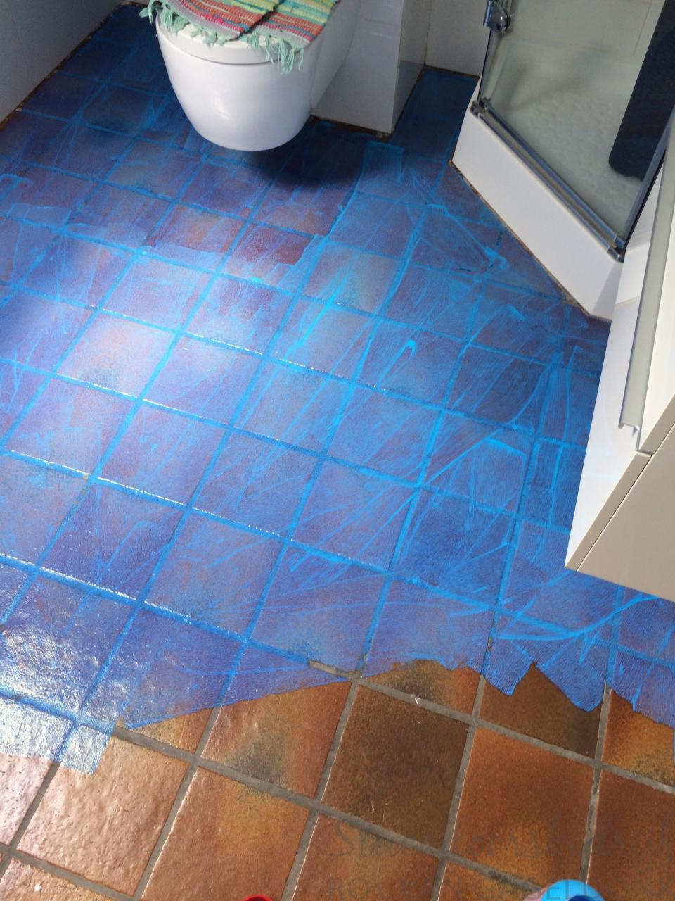 Badkamervloer met betonstuc stucadoorsbedrijf roy van gageldonk - Badkamer vloer ...